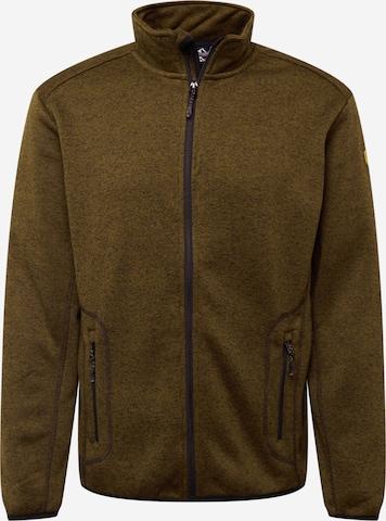 Whistler Funksjonsfleecejakke i brun
