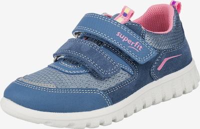 SUPERFIT Sneaker in rauchblau / rosa, Produktansicht