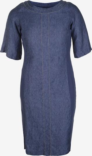 Doris Streich Leinenkleid im Denim-Stil in blau / blue denim, Produktansicht