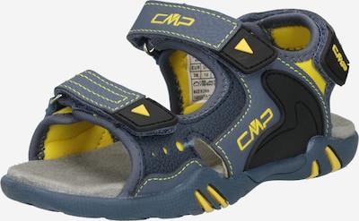 CMP Sandale 'ALPHARD' in gelb / dunkelgrau, Produktansicht