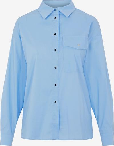 PIECES Blus i ljusblå: Sedd framifrån