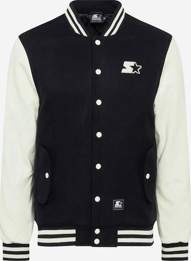 Starter Black Label Tussenjas in de kleur Zwart / Wit, Productweergave