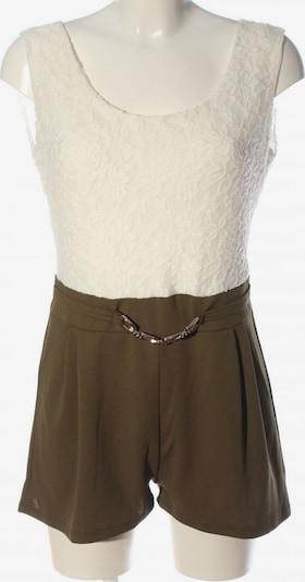 Styleboom Jumpsuit in M in Brown / White, Item view