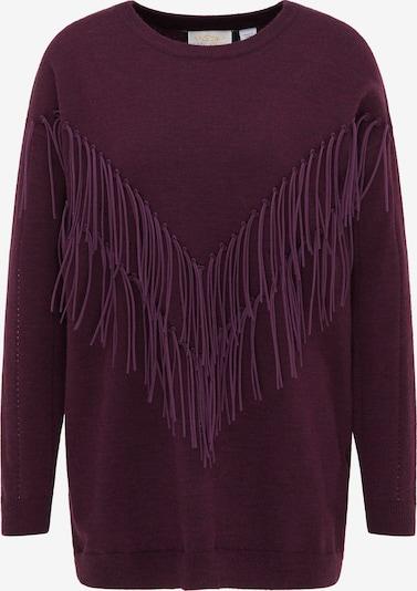 usha FESTIVAL Sweter w kolorze śliwkam, Podgląd produktu