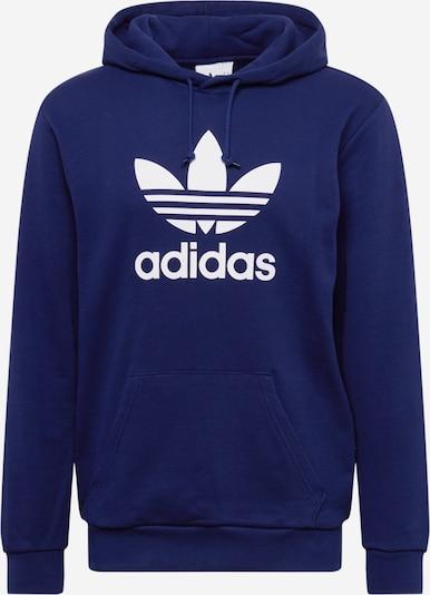ADIDAS ORIGINALS Sweatshirt in dunkelblau / weiß: Frontalansicht