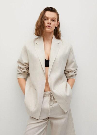 MANGO Blazer 'Agnes' in nude, Modelansicht