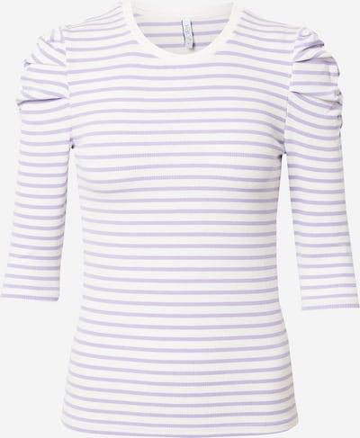 Hailys Shirt 'Lenja' in lavendel / weiß, Produktansicht