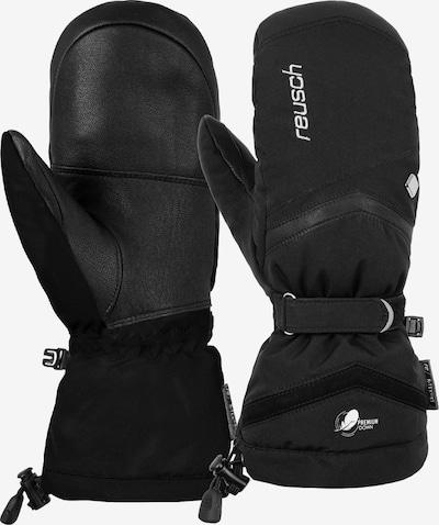 REUSCH Fäustling 'Naria R-TEX® XT Mitten' in schwarz / silber, Produktansicht