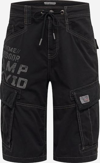 CAMP DAVID Hose in schwarz, Produktansicht