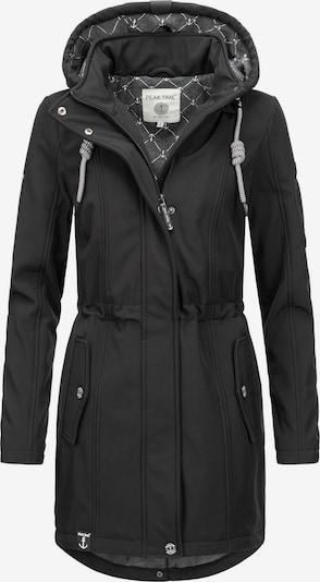 Peak Time Manteau fonctionnel en noir, Vue avec produit