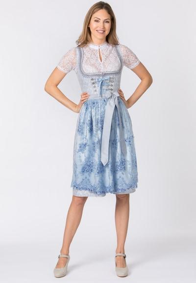 STOCKERPOINT Dirndl 'Annabelle' in de kleur Lichtblauw, Modelweergave