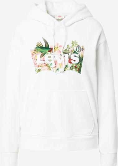 LEVI'S Sweatshirt in mischfarben / weiß, Produktansicht