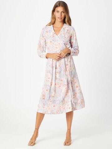 Love & Divine Shirt Dress 'Love677' in Beige