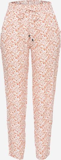 Pantaloni Sublevel pe portocaliu / offwhite, Vizualizare produs