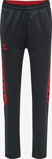 Hummel Pantalon de sport en gris foncé / rouge, Vue avec produit