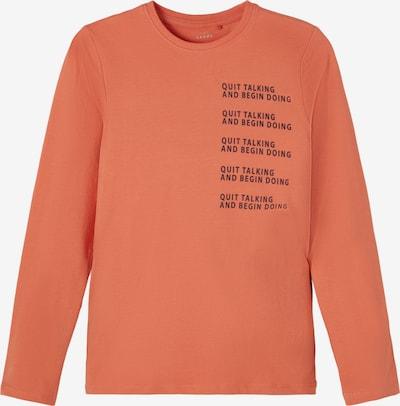 NAME IT Shirt 'Vux' in de kleur Navy / Abrikoos, Productweergave