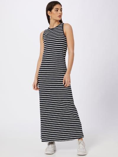 Superdry Kleid in kobaltblau / weiß, Modelansicht