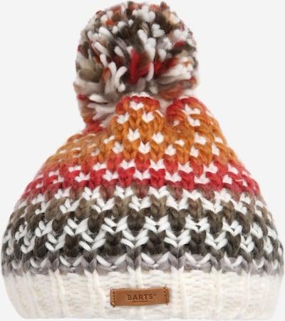 Barts Mütze 'Nicole' in braun / taupe / orange / rot / weiß, Produktansicht