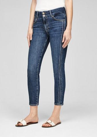 s.Oliver BLACK LABEL Jeans in Blauw