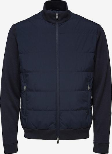 SELECTED HOMME Välikausitakki 'SLHKNIT HYBRID JKT G' värissä tummansininen, Tuotenäkymä