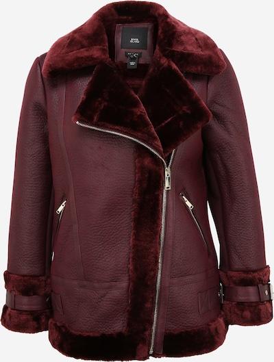 River Island Petite Prijelazna jakna 'Shearling Aviator' u tamno crvena, Pregled proizvoda
