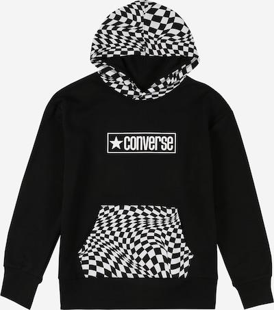 CONVERSE Sweatshirt in schwarz / weiß, Produktansicht