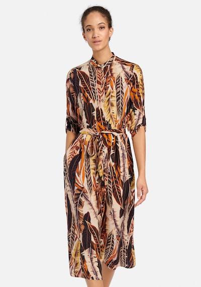 Peter Hahn Abendkleid in braun / orange, Modelansicht