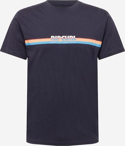 Tricou funcțional 'Surf Revival' RIP CURL pe bleumarin / turcoaz / portocaliu caisă / alb, Vizualizare produs