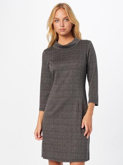 TOM TAILOR Kleid in senf / graumeliert / weinrot / schwarz, Modelansicht