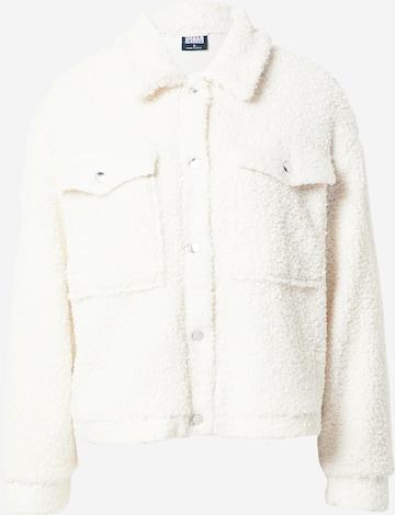 Urban Classics Overgangsjakke i hvit