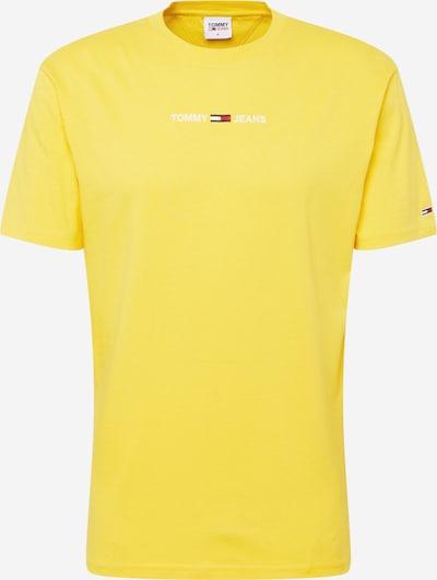 Tommy Jeans T-Shirt en bleu nuit / jaune / rouge / blanc, Vue avec produit