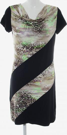 Cosima Stretchkleid in M in hellgrau / grün / schwarz, Produktansicht