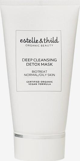 estelle & thild Maske in weiß, Produktansicht