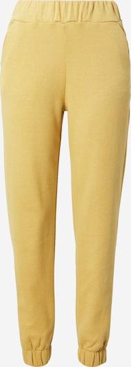 ICHI Pantalon en moutarde, Vue avec produit