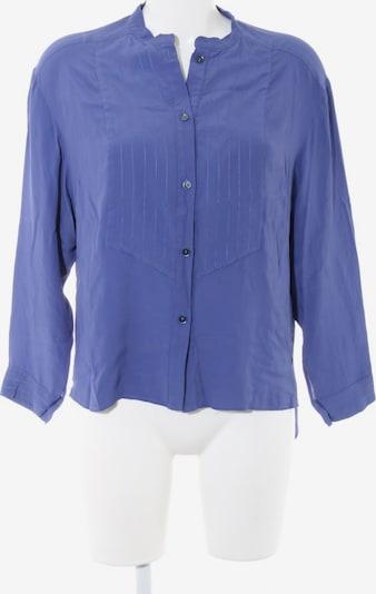 Trussardi Langarm-Bluse in L in blau, Produktansicht