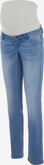MAMALICIOUS Jean 'Sarina' en bleu denim / gris, Vue avec produit