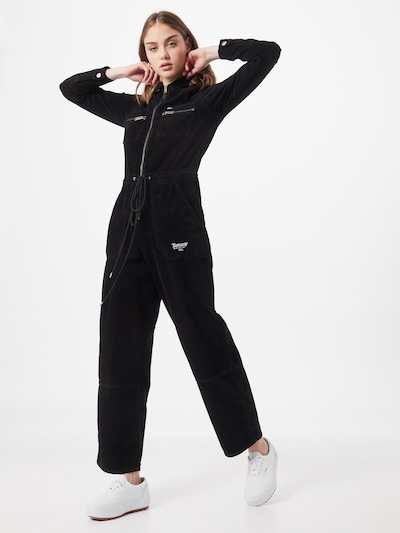 Tommy Jeans Jumpsuit in de kleur Zwart, Modelweergave