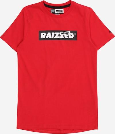 Raizzed Shirt 'Hamburg' in rot / schwarz / weiß, Produktansicht