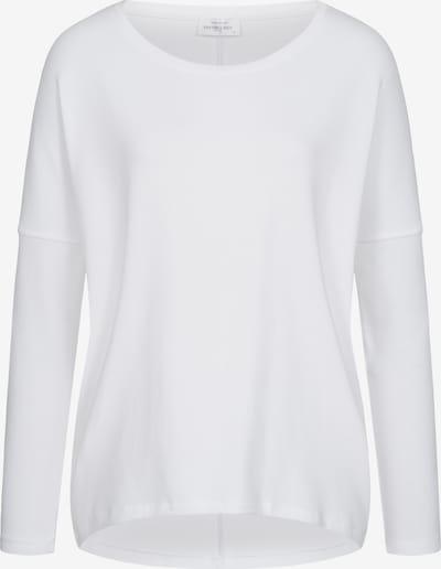 Cotton Candy Langarmshirt 'BENTE' in weiß, Produktansicht