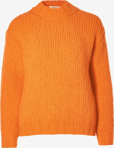 LOOKS by Wolfgang Joop Strickpullover ' mit Kragen ' in orange, Produktansicht