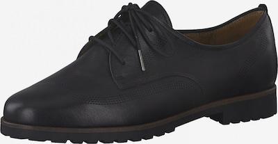TAMARIS Schnürschuh in schwarz, Produktansicht