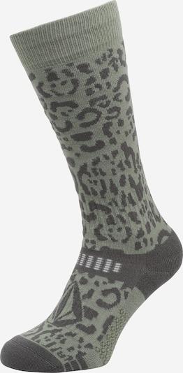 Sportinės kojinės iš Volcom, spalva – rusvai pilka / tamsiai pilka / balta, Prekių apžvalga
