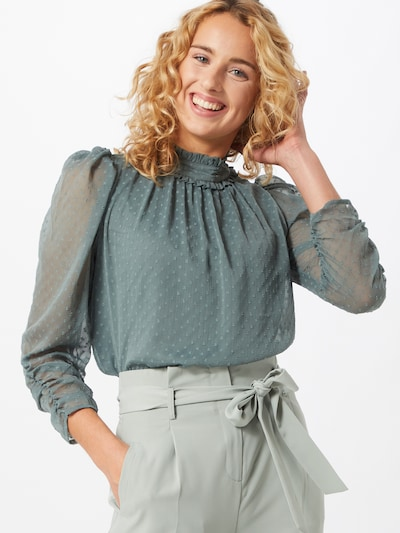 ONLY Bluse 'Riva' in mint, Modelansicht