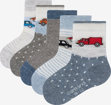 camano Socken in Grau