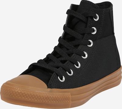 CONVERSE Baskets hautes 'CHUCK TAYLOR ALL STAR' en miel / gris / noir, Vue avec produit