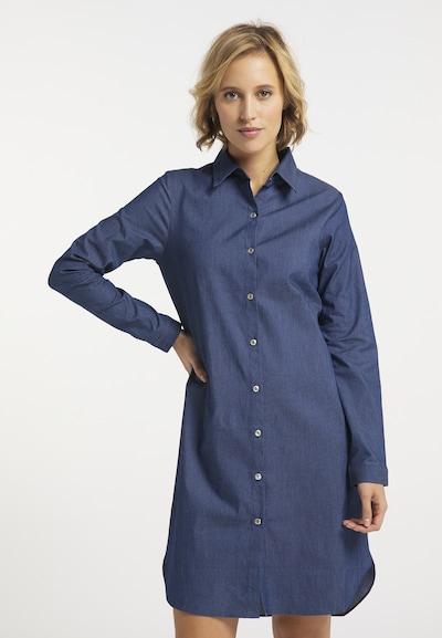 usha BLUE LABEL Shirt Dress in Night blue, View model