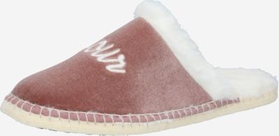 espadrij l´originale Hausschuh in rosé / weiß, Produktansicht