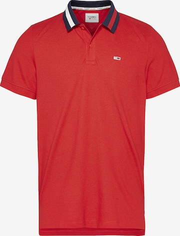 Tommy Jeans Poloshirt in Rot