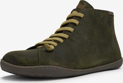 CAMPER Schnürstiefel ' Peu Cami ' in braun / oliv / dunkelgrün, Produktansicht