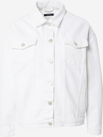 Trendyol Overgangsjakke i hvid, Produktvisning